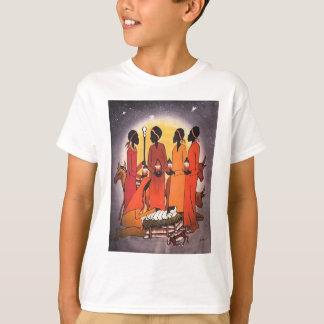 African Christmas Nativity Scene T-Shirt