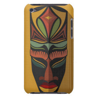 African Colorful Mask Barely There iPod Covers