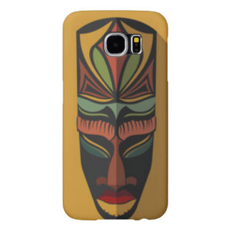 African Colorful Mask Samsung Galaxy S6 Cases