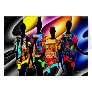 African Colour Card