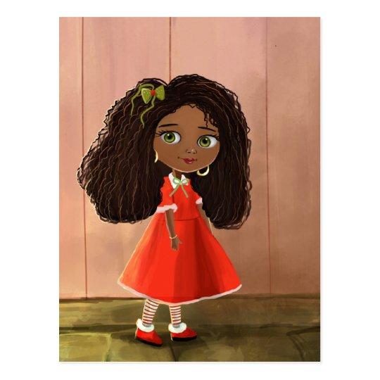 African cute girl Postcard