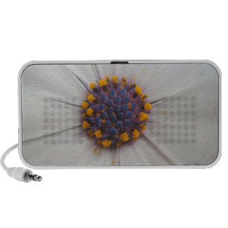African Daisy Photography Notebook Speakers
