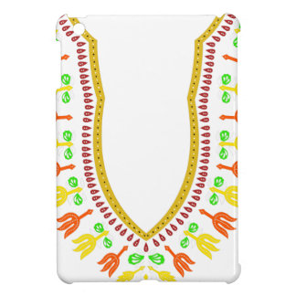 African Dashiki Boubou Necklace - Warm iPad Mini Cover