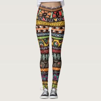 African Design Leggings