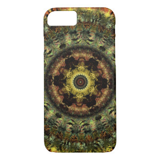African Dusk Mandala iPhone 7 case