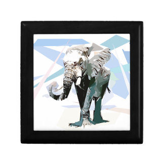 African elephant gift box