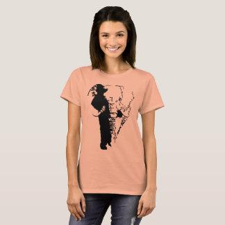 African Elephant graphic tee