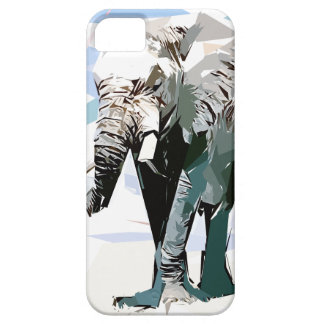 African elephant iPhone 5 cover