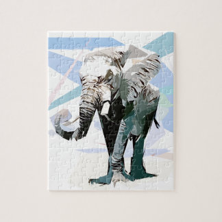 African elephant jigsaw puzzle