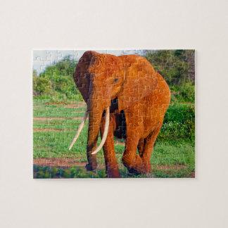 African Elephant Jigsaw Puzzle