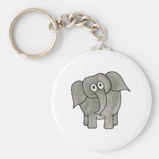 African Elephant Key Chains