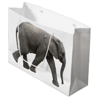 African Elephant Large Gift Bag
