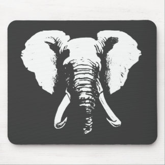 African Elephant Mouse Pads