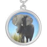 African Elephant Necklace