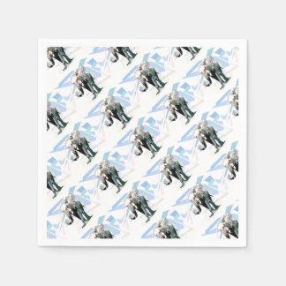 African elephant paper serviettes