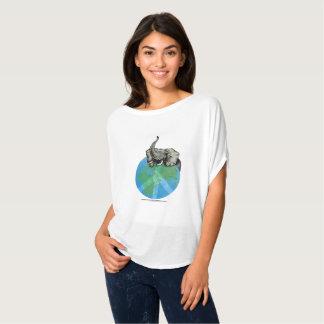 African Elephant Peace Design T-Shirt