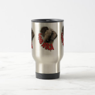 African elephant safari africa mugs