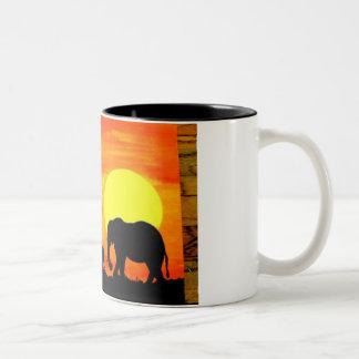 AFRICAN ELEPHANT SAFARI MUG