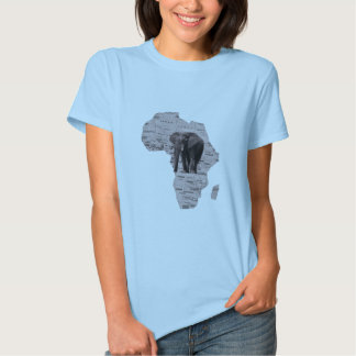 AFRICAN ELEPHANT TSHIRTS