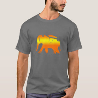 African Elephant Walking at Dawn T-Shirt