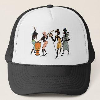 African Ethnic Native tribal design Trucker Hat