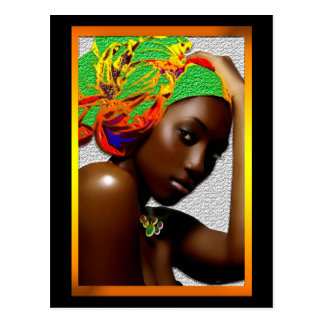 African Festival Postcard