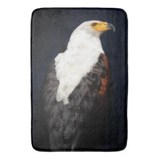 African fish eagle bath mat