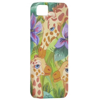 African Giraffe Kisses (Kimberly Turnbull Art) Case For The iPhone 5