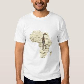 african giraffe shirts