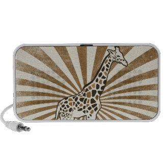 African Giraffe iPod Speaker