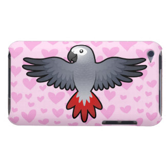 African Grey / Amazon / Parrot Love Case-Mate iPod Touch Case