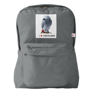 African Grey Parrot Backpack