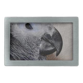 African Grey Parrot Belt Buckles