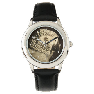 African Grey Parrot Wrist Watches