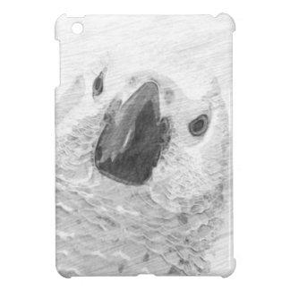 African Grey Parrot iPad Mini Cover