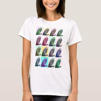 African Grey Parrot Pop Art T-Shirt