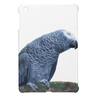 African Grey parrot portrait iPad Mini Cover