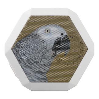 African Grey Parrot Profile White Boombot Rex Bluetooth Speaker