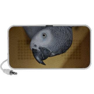 African Grey Parrot Travel Speaker