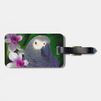 African Grey Parrot Tags For Luggage