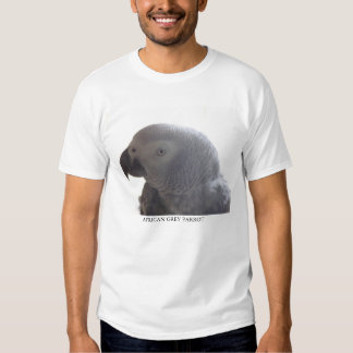 African Grey Parrot Tshirts