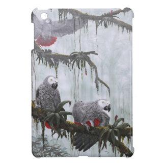 African Grey Parrots flying free iPad Mini Case