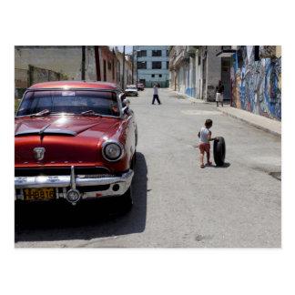 African Hamel district, Havana, Cuba, UNESCO Postcard