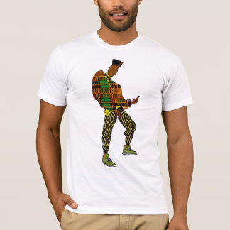 African Hip Hop Style T-Shirt