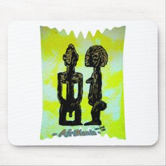 African icon: Ibeji - Twins (Yoruba - West Africa) Mousepad