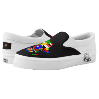 African ImaBoss Shoe Printed Shoes