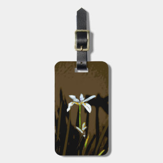 African Iris Fortnight Lily Flower Bag Tag