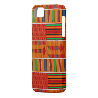 African Kente Cloth iPhone Case