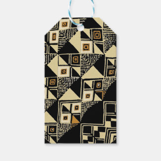 African Kuba Inspired Designs Gift Tags