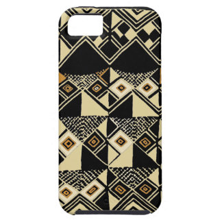 African Kuba Inspired Designs Tough iPhone 5 Case